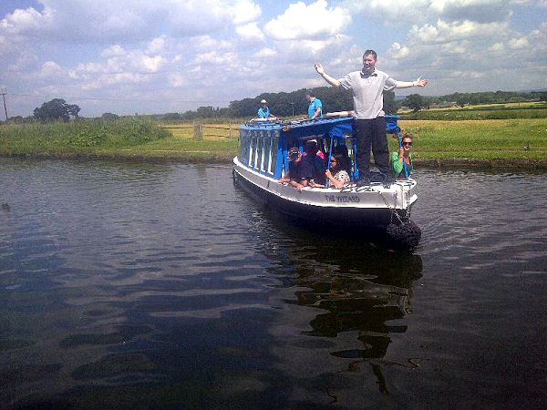 Carers barge trip to Cheshire August 2014